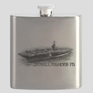 CVN-75 Harry S. Truman Flask