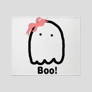 Boo! 2-Sided Throw Blanket