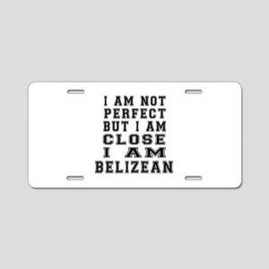 Belizean Designs Aluminum License Plate