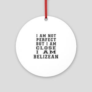Belizean Designs Round Ornament