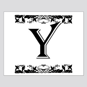 Roman Style Letter Y Posters