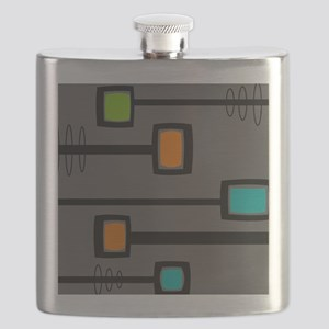 Mid-Century Abstract Art Flask
