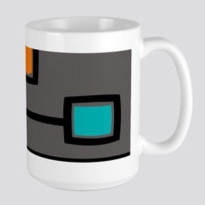Mid-Century Abstract Art Mugs