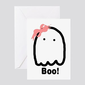 Boo! Card Greeting Cards