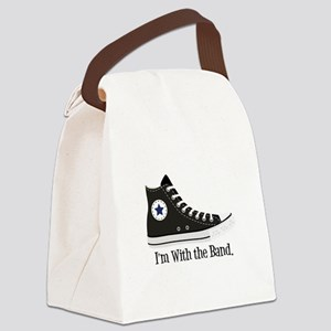 With The Band Canvas Lunch Bag