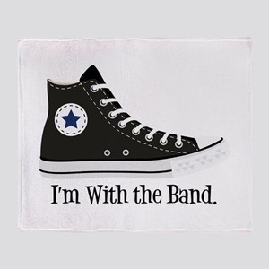 With The Band Throw Blanket