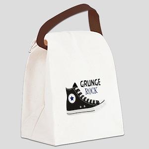 Grunge Rock Canvas Lunch Bag