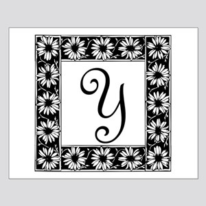 Sunflower Border Letter Y Posters