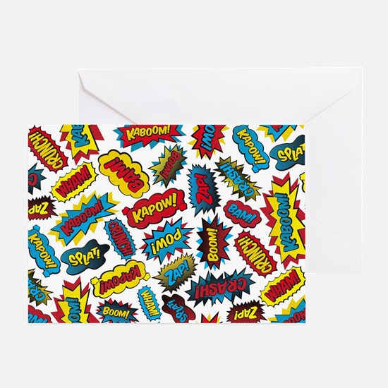 Super Words! Greeting Card