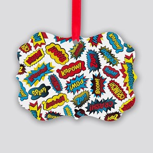 Super Words! Picture Ornament