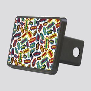 Super Words! Rectangular Hitch Cover