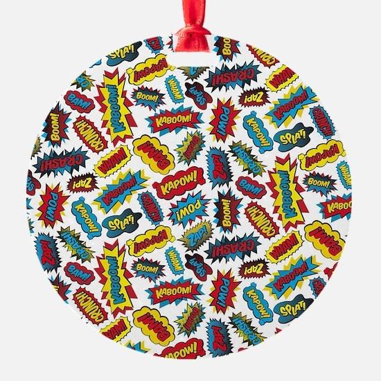 Super Words! Ornament