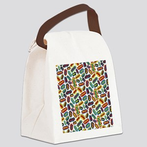 Super Words! Canvas Lunch Bag
