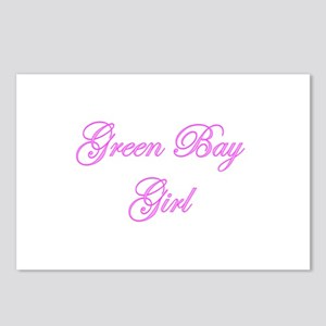 Green Bay Girl Postcards (Package of 8)