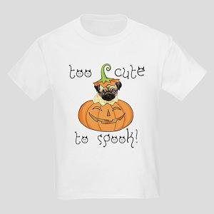 Halloween Pug Kids Light T-Shirt