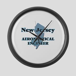 New Jersey Aeronautical Engineer Large Wall Clock