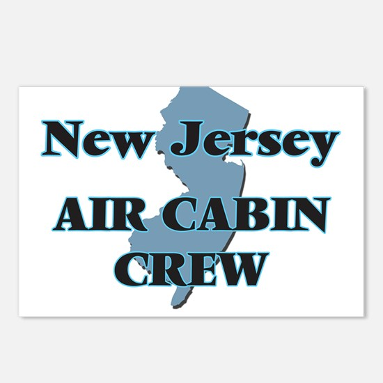 New Jersey Air Cabin Crew Postcards (Package of 8)