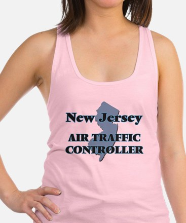 New Jersey Air Traffic Controll Racerback Tank Top