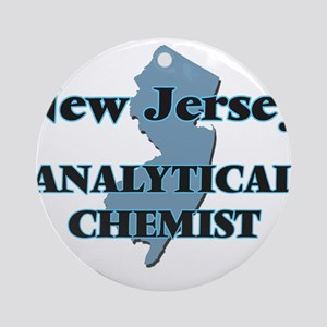 New Jersey Analytical Chemist Round Ornament