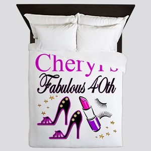 CUSTOM 40TH Queen Duvet