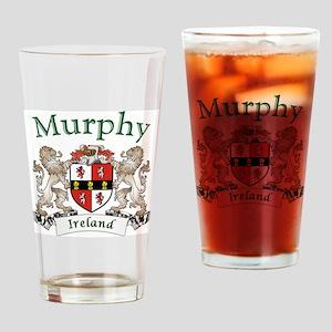 Murphy Irish Coat of Arms Drinking Glass