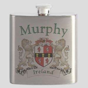 Murphy Irish Coat of Arms Flask