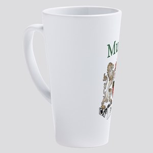 Murphy Irish Coat of Arms 17 oz Latte Mug