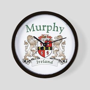 Murphy Irish Coat of Arms Wall Clock