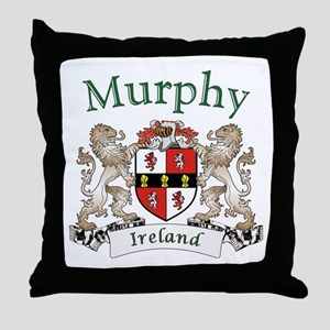Murphy Irish Coat of Arms Throw Pillow