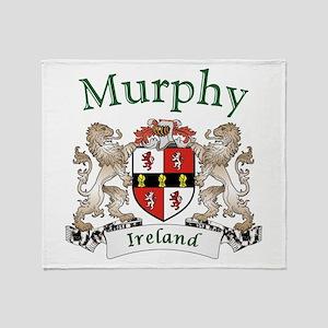 Murphy Irish Coat of Arms Throw Blanket