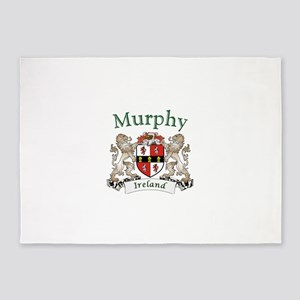 Murphy Irish Coat of Arms 5'x7'Area Rug