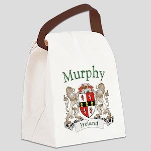 Murphy Irish Coat of Arms Canvas Lunch Bag