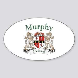 Murphy Irish Coat of Arms Sticker