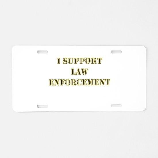 ISLE Aluminum License Plate