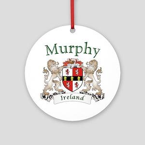 Murphy Irish Coat of Arms Round Ornament