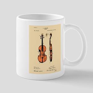 Fiddle Patent Mug