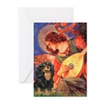 Angel (3) & Cavalier (BT) Greeting Cards (Pk of 20