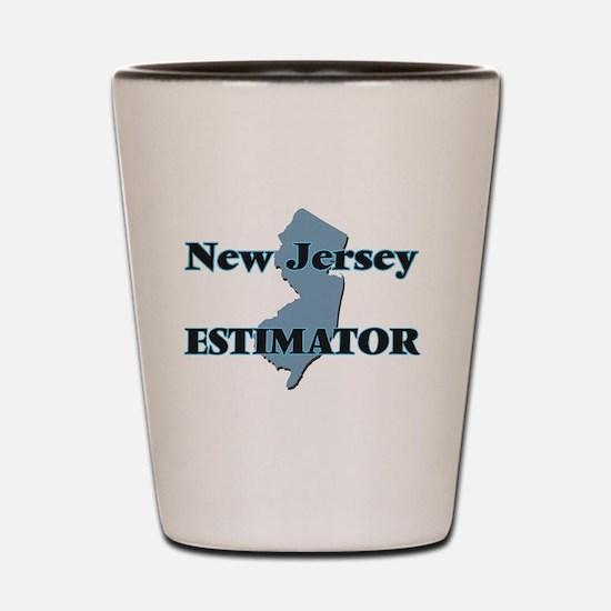 New Jersey Estimator Shot Glass