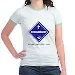Christianity Jr. Ringer T-shirt