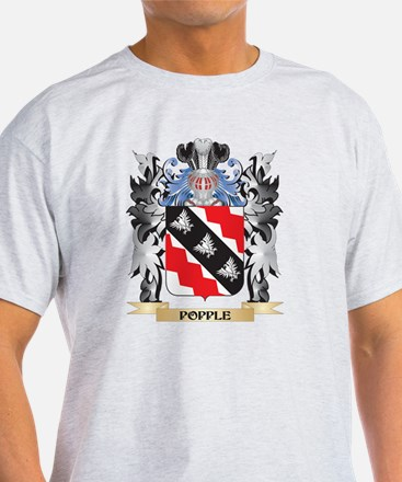 Popple Coat of Arms - Family Crest T-Shirt