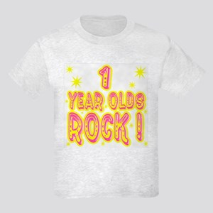 1 Year Olds Rock ! Kids Light T-Shirt