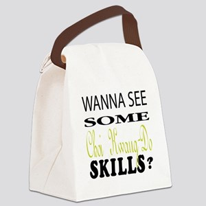 Wanna See Some Choi Kwang Do Skil Canvas Lunch Bag