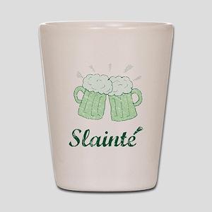 Slainte Beer Mugs Shot Glass