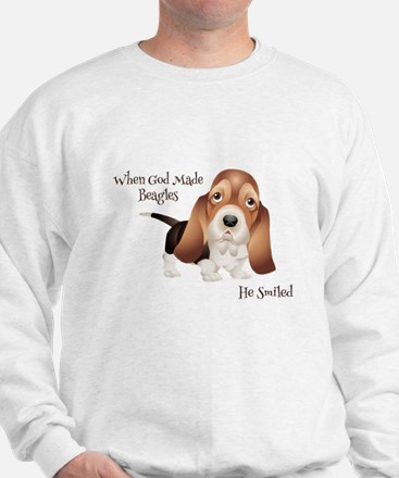 When God Made Beagles Sweater