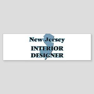 New Jersey Interior Designer Bumper Sticker