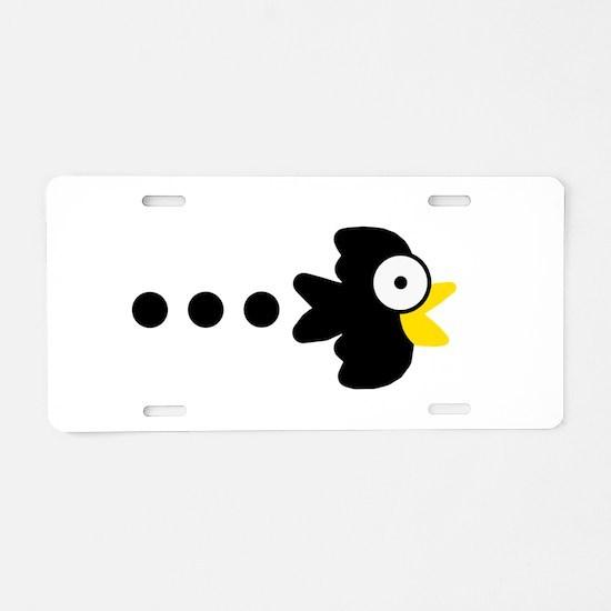 Anime crow Aluminum License Plate
