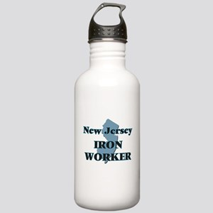 New Jersey Iron Worker Stainless Water Bottle 1.0L
