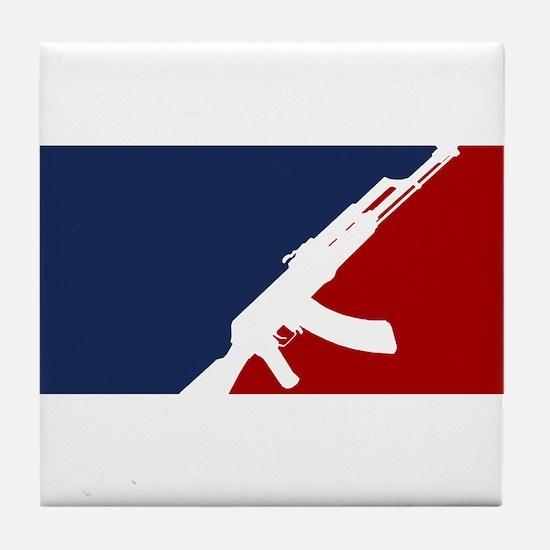 AK 47 league Tile Coaster