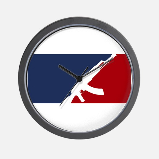 AK 47 league Wall Clock