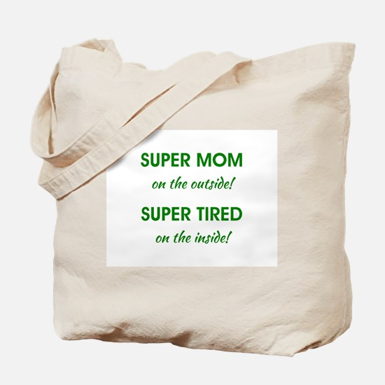 SUPER MOM Tote Bag